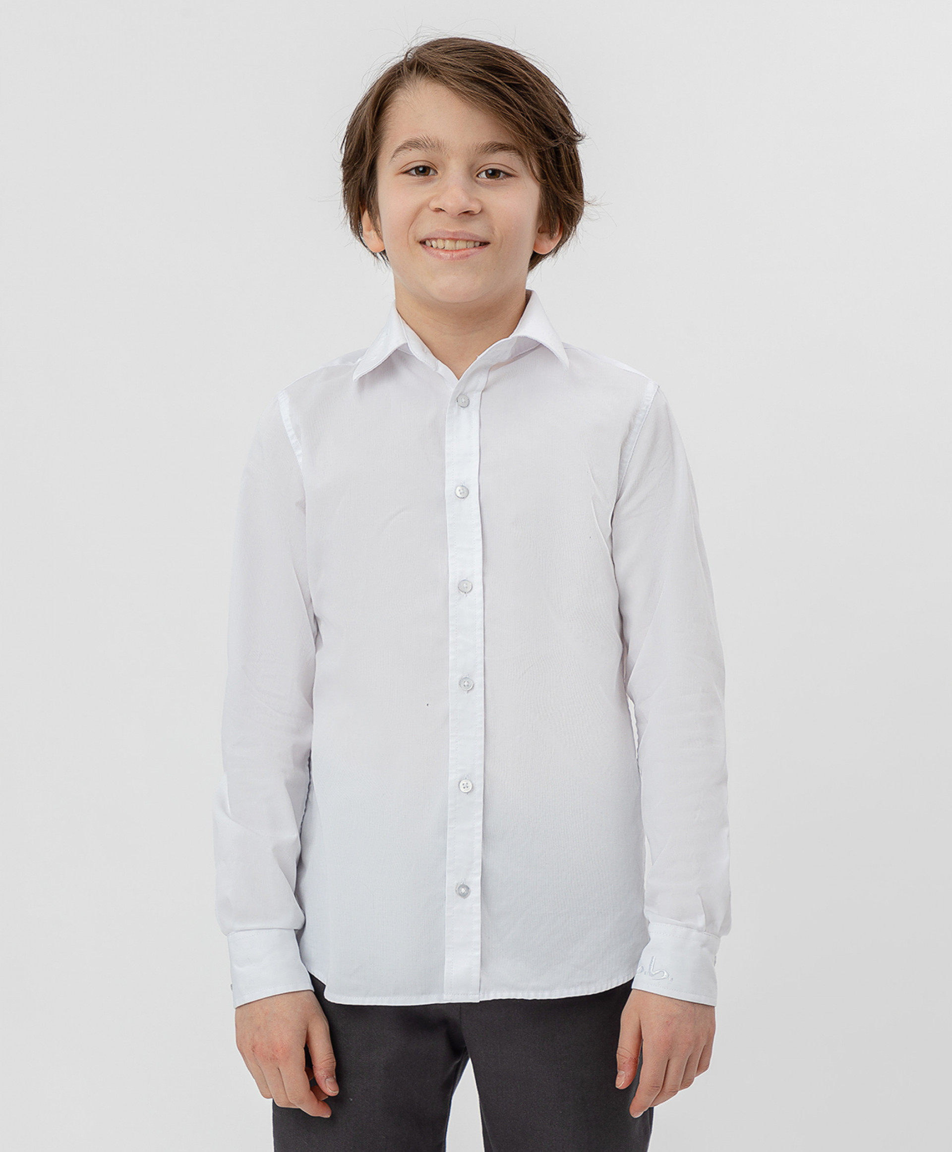 Купить Белая рубашка BUTTON BLUE, модель 220BBBS23020200, размер 170*84*69,