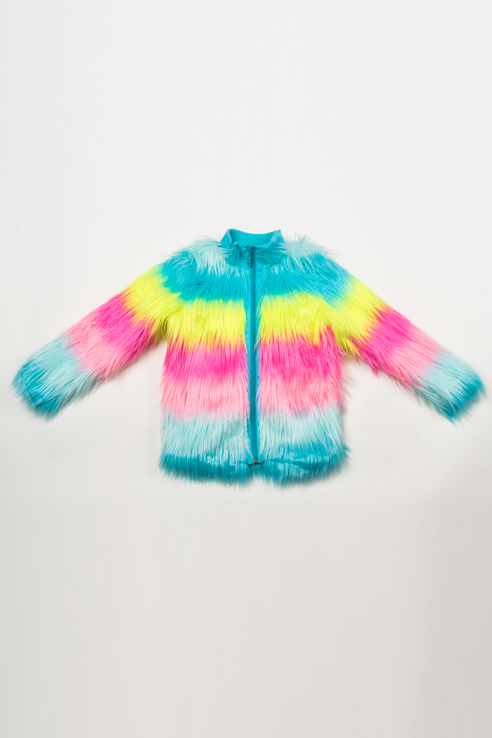 Куртка для девочки PlayToday, цв.мультиколор, р