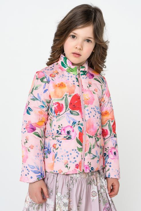 Куртка для девочки BAON, цв.розовый, р-р 110 BK038003