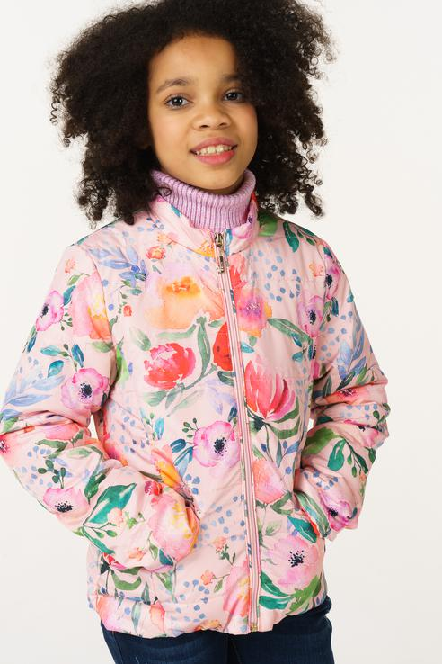 Куртка для девочки BAON, цв.розовый, р-р 146 BJ038003