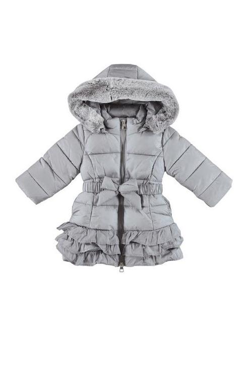 Купить 4.V862.00, Куртка для девочки iDO, цв.серый, р-р 122, Куртки для девочек