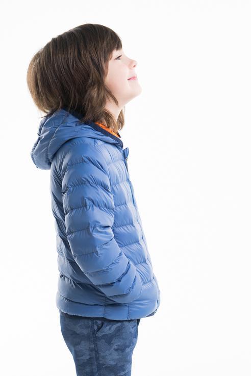 Купить 181BFAA001, Куртка для девочки Brums, цв.синий, р-р 104, Куртки для девочек