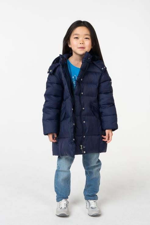 Купить 4.V861.00, Куртка для девочки iDO, цв.синий, р-р 104,