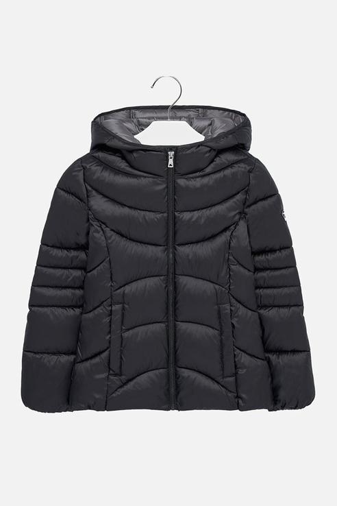 Купить 7418, Куртка для девочки Mayoral, цв.чeрный, р-р 128,