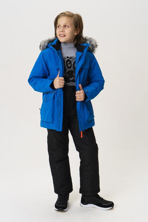 Купить 450017679IV, Куртка для мальчика Icepeak, цв.голубой, р-р 140,