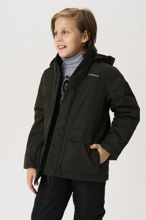 Купить 450007554IV, Куртка для мальчика Icepeak, цв.зеленый, р-р 152,