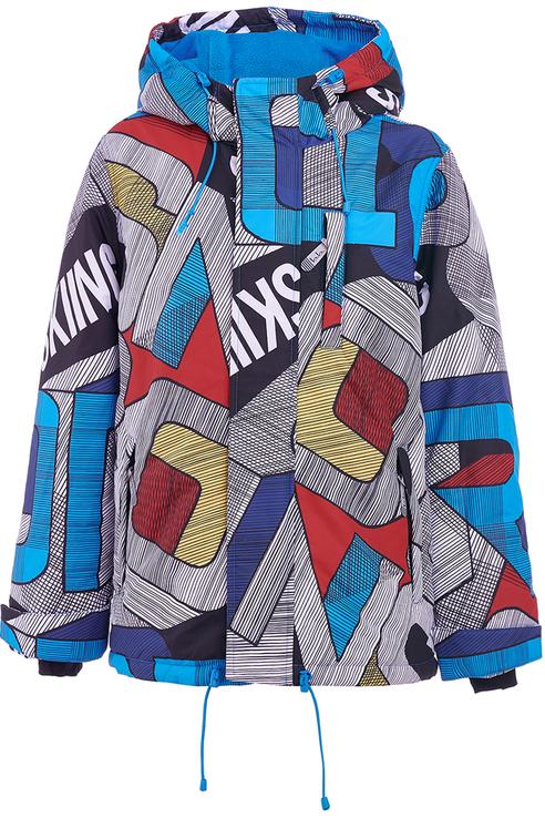Куртка для мальчика Button Blue, цв.мультиколор, р-р 104