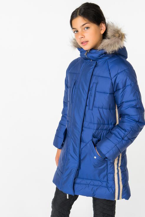 Купить 21809GTC4505, Куртка для девочки Gulliver, цв.синий, р-р 164,