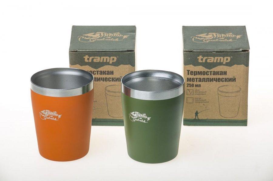 Термостакан Tramp 250мл оранжевый TRC 101
