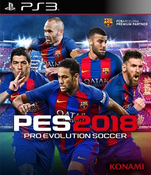Игра Pro Evolution Soccer 2018 для PlayStation 3 Sony