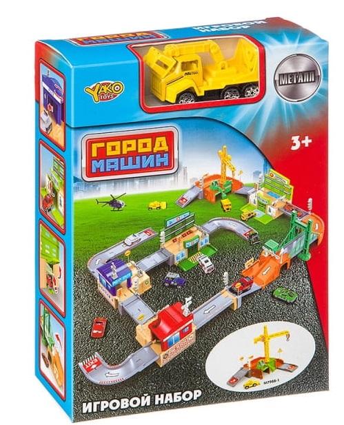 Игровой набор Наша игрушка Стройплощадка, 33 предмета