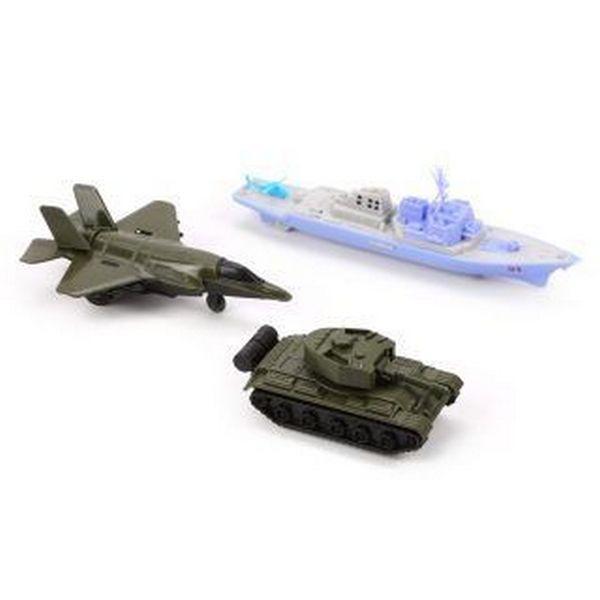 Игровой набор Наша игрушка Военный с танком,