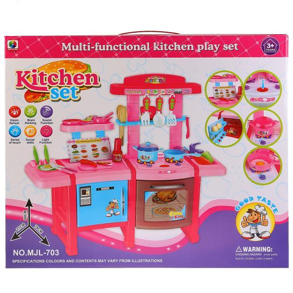 Купить Детская кухня Shantou Gepai B1344384 со световыми и звуковыми эффектами