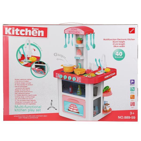 Купить Детская кухня Shantou Gepai B1607907 со световыми и звуковыми эффектами