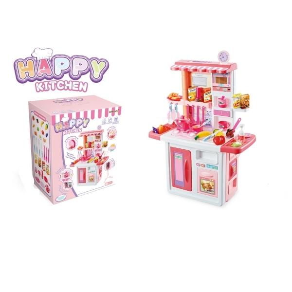 Купить Детская кухня Shantou Gepai B1823894 с аксессуарами, со световыми и звуковыми эффектами,