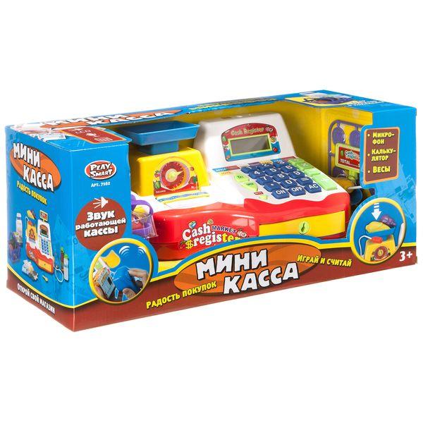 Купить Игровой набор Play Smart Мини-касса, PLAYSMART, Игрушечные кассы