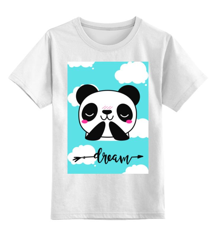 Купить 0000002908337, Детская футболка Printio Без названия цв.белый р.152,