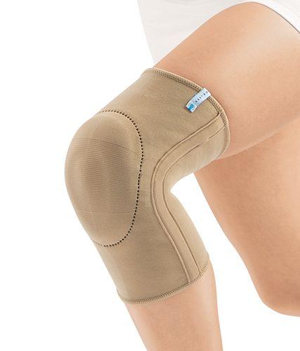 Эластичный бандаж на коленный сустав с пателлярным