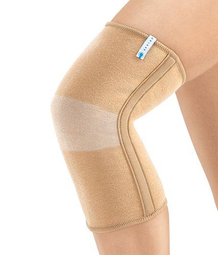 Эластичный бандаж на коленный сустав с ребрами
