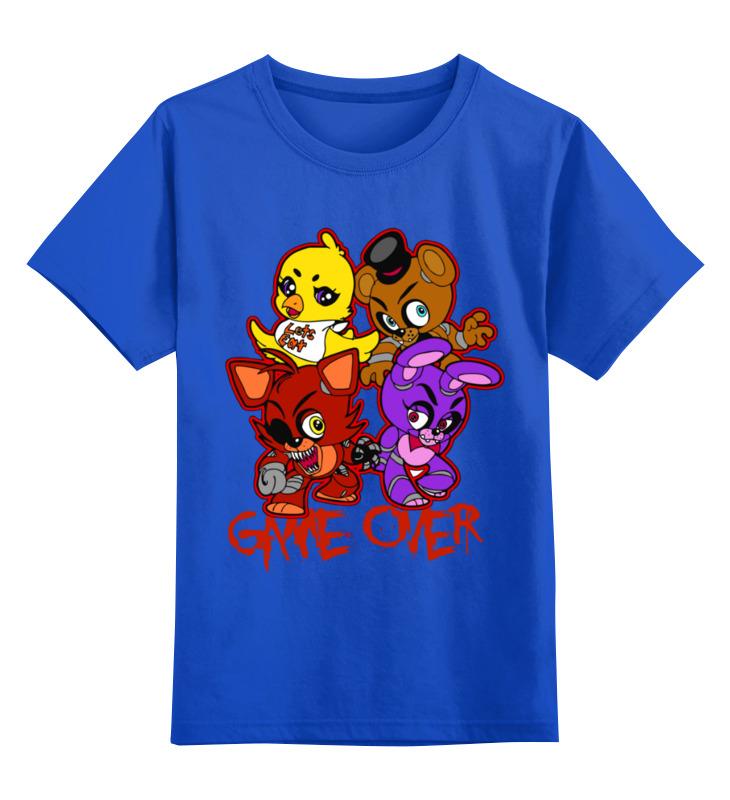 Детская футболка Printio Five nights at freddy's цв.синий р.140 0000003247676 по цене 990