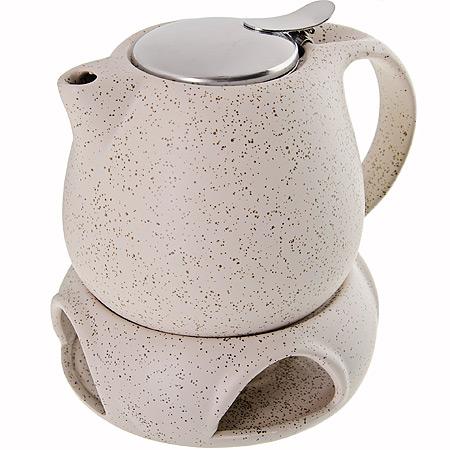 Заварочный чайник, с подставкой для подогрева,