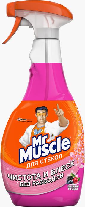 Чистящее средство для стекол Mr.Muscle лесные ягоды