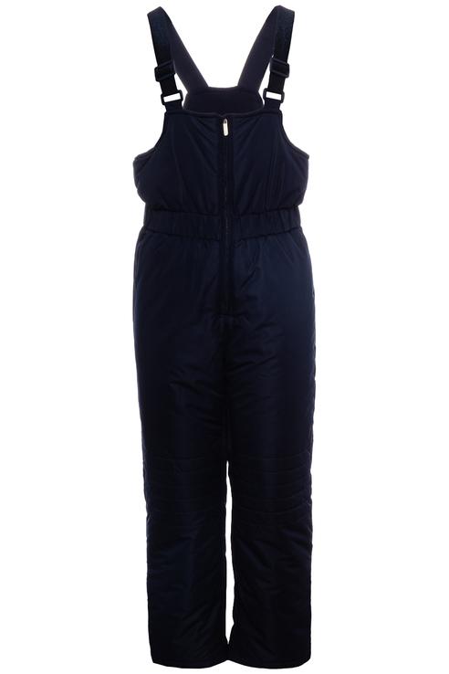 Купить 219BBGC67011000, Полукомбинезон утепленный для девочки Button Blue, цв.синий, р-р 104,