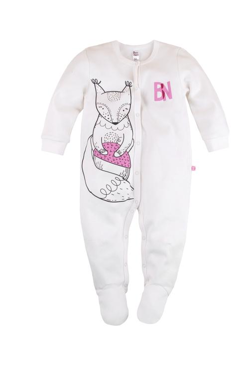 Купить 502У-361, Комбинезон для мальчика Bossa Nova, цв.белый, р-р 74, Трикотажные комбинезоны для новорожденных