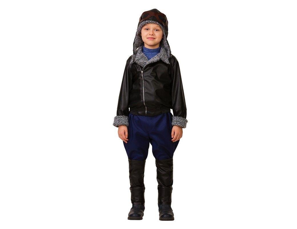 Купить Карнавальный костюм Лётчик, размер 158-80, Батик,