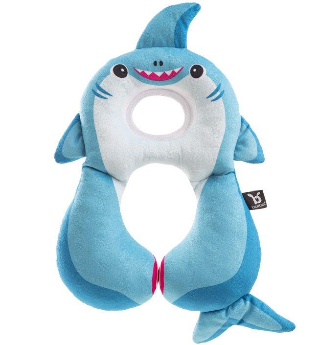 Купить HR309, Подушка для путешествий Benbat 1-4 года, Акула, голубой,