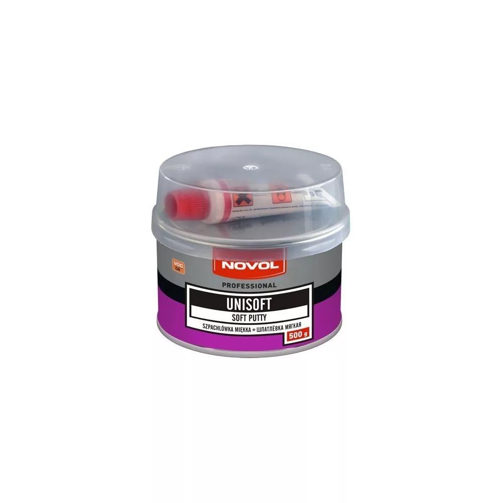 Шпатлевка Novol Unisoft Полиэфирная 1 кг Novol