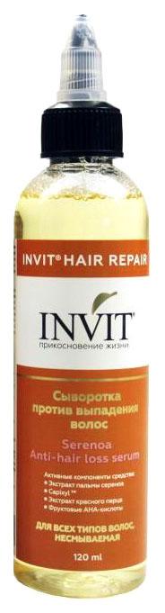 Купить Сыворотка против выпадения волос Invit Serenoa Anti-hair Loss Serum 120 мл