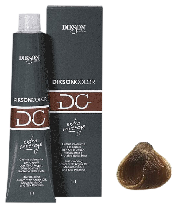 Купить Краска для волос Dikson COLOR Extra Coverage 7N/E 121-07 7.0 русый 120 мл