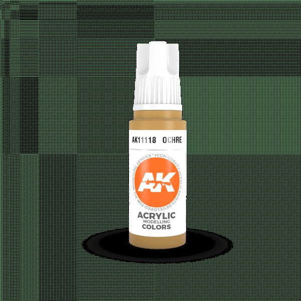 Купить Краска акриловая AK Interactive 3rd Generation Ocher, 17 мл,