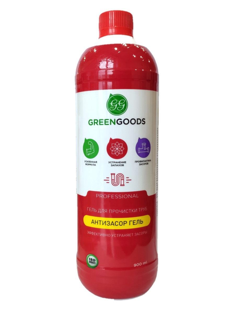 Green Goods Профессиональное средство Гель для прочистки