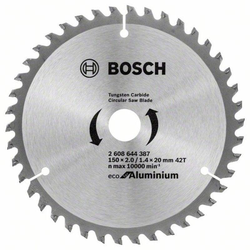 Пильный диск ECO ALU/Multi 150x20/16-42T 2608644387 Bosch