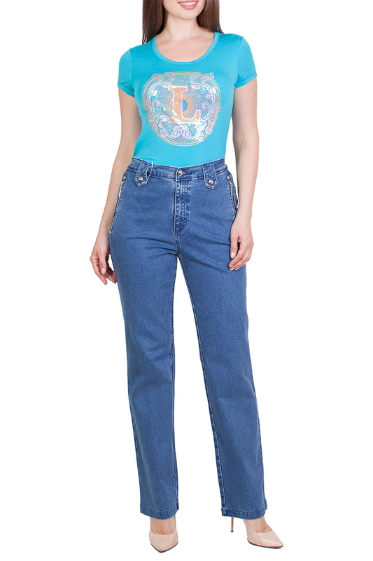 Джинсы женские LAFEI-NIER X24782R/T синие 27