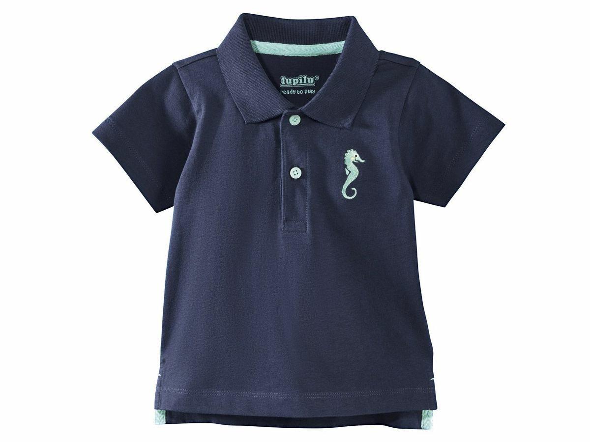 Купить Футболка-поло для мальчика Lupilu р.62-68, Детские футболки, топы