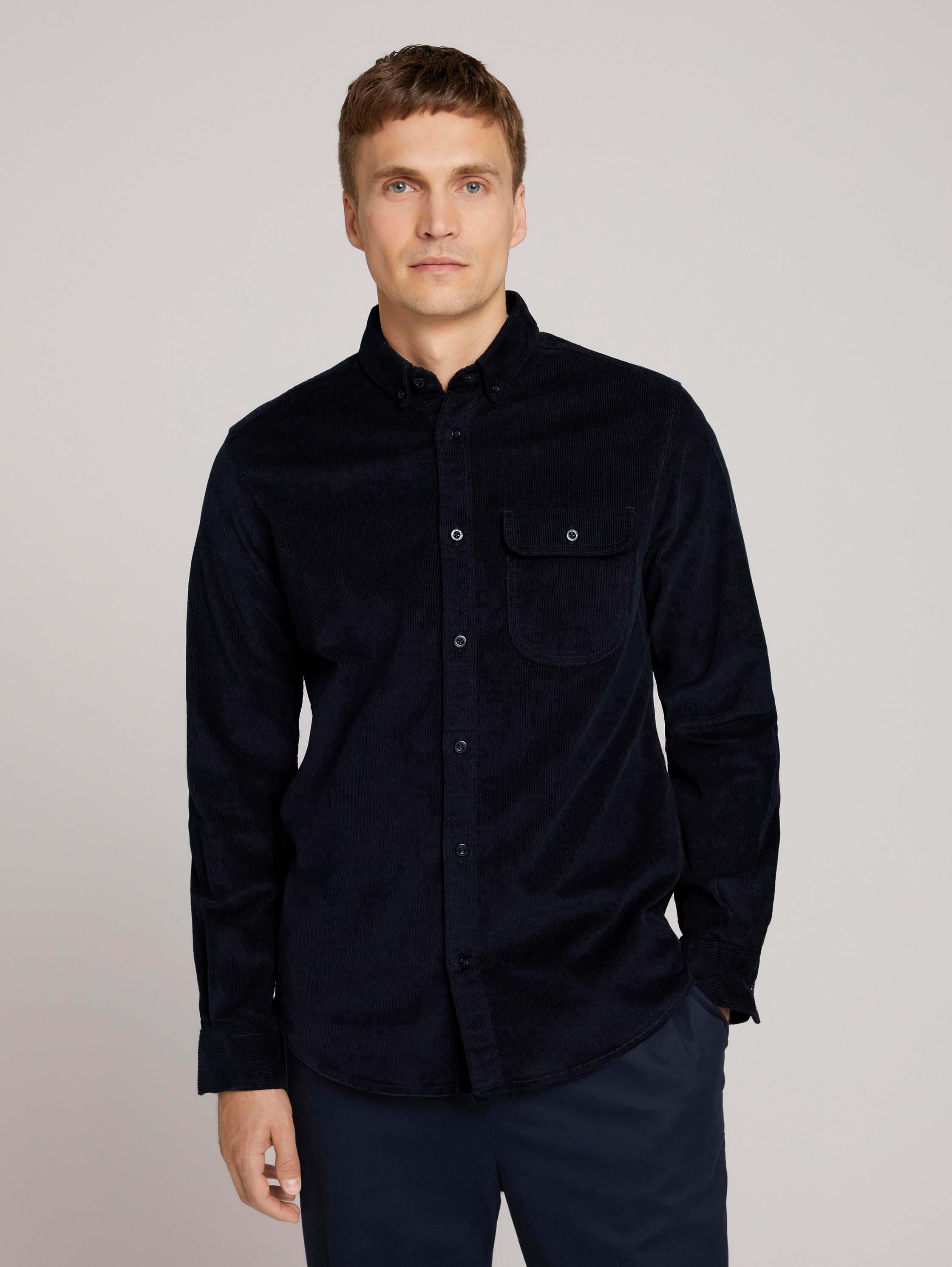 Рубашка мужская TOM TAILOR 1026966 синяя M