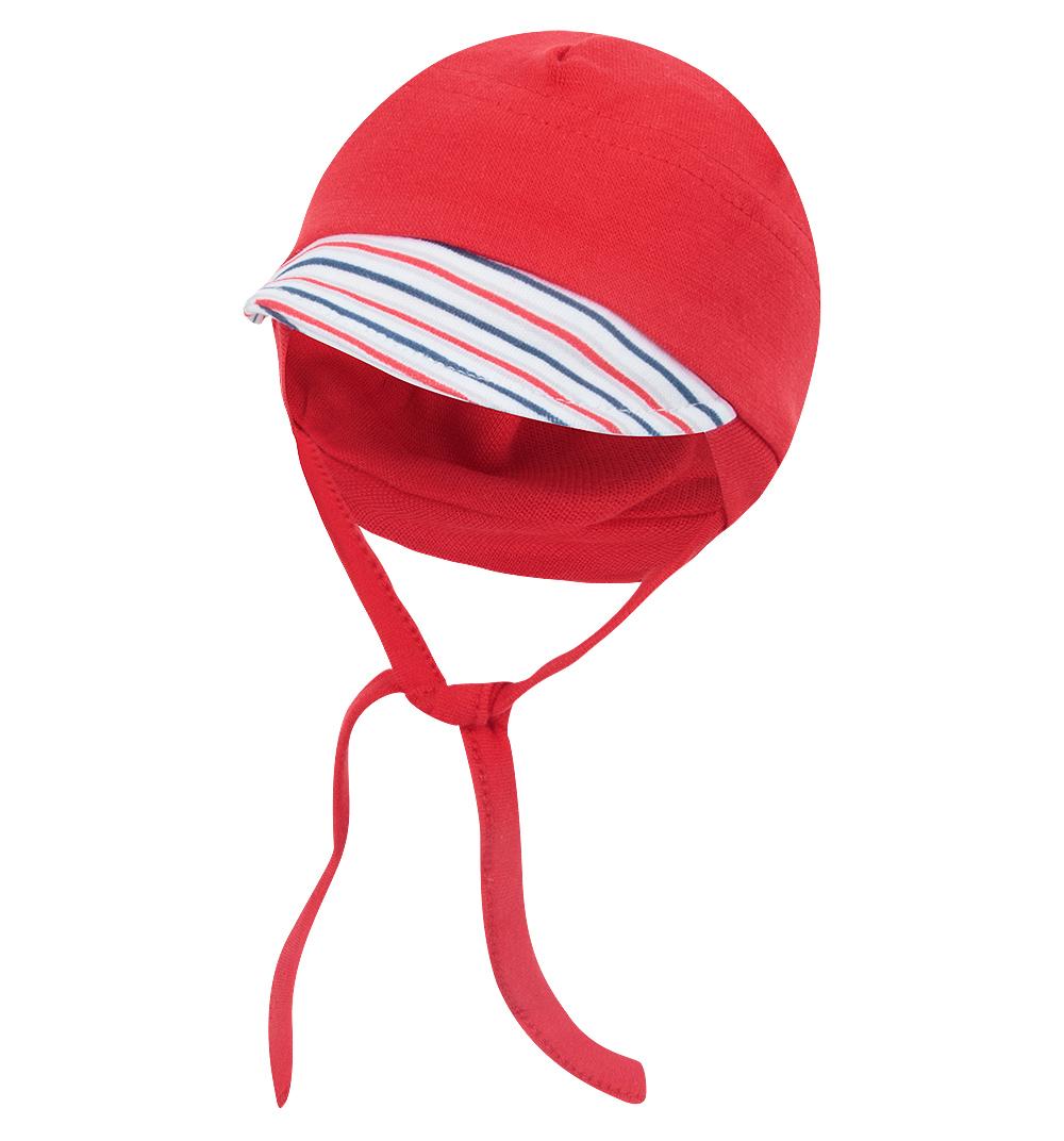 Чепчик для детей Nicol 3606 красный 68