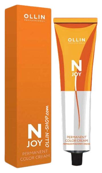 Купить Краска для волос OLLIN PROFESSIONAL N-Joy 396413 7/37 Русый золотисто-коричневый 100 мл