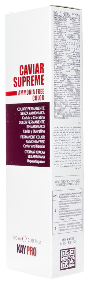 Купить Краска для волос KAYPRO CAVIAR SUPREME 19155-7.13 7.13 Бежевый блонд 100 мл