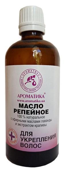 Купить Репейное масло Ароматика для укрепления волос, 100 мл