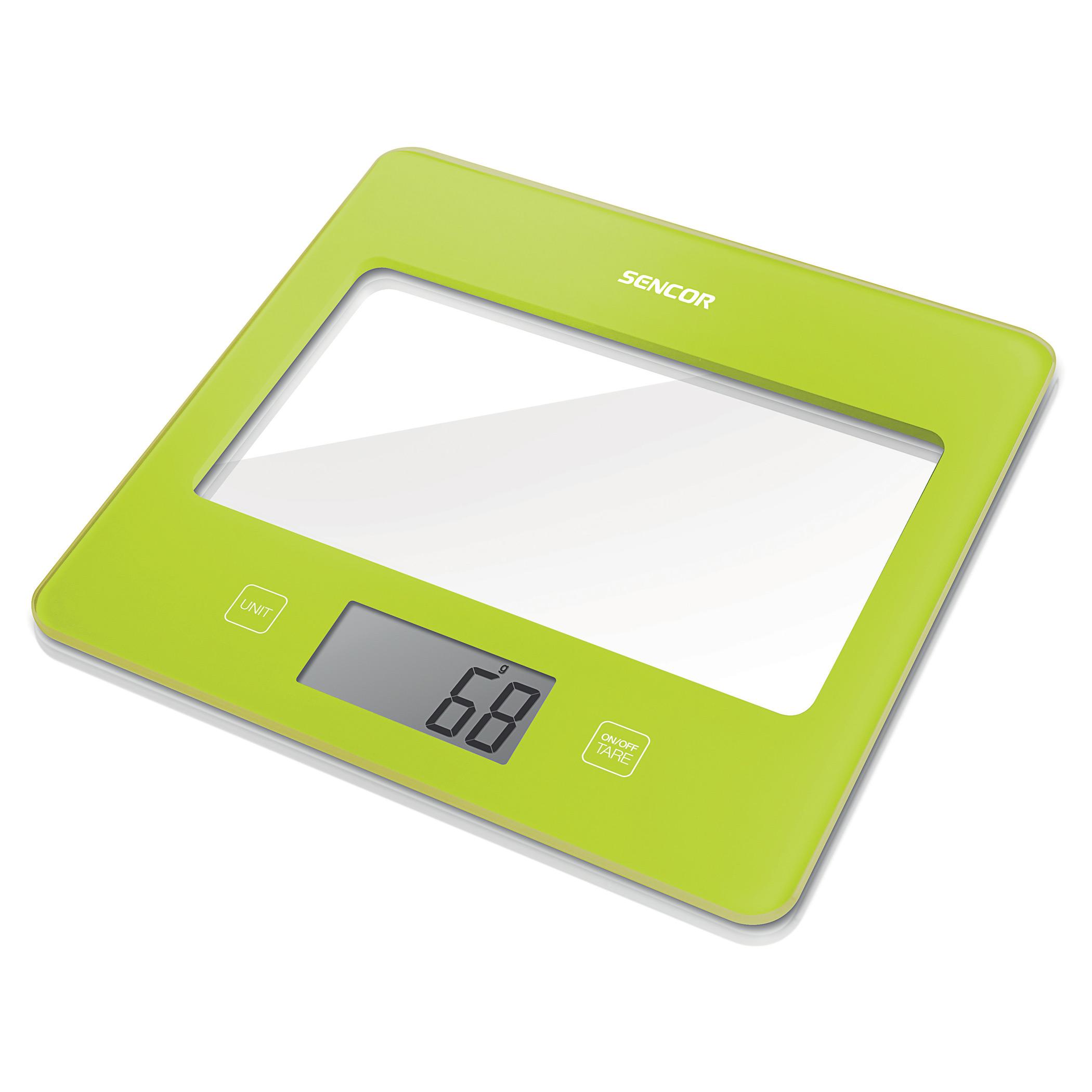 Весы кухонные Sencor SKS 5021GR