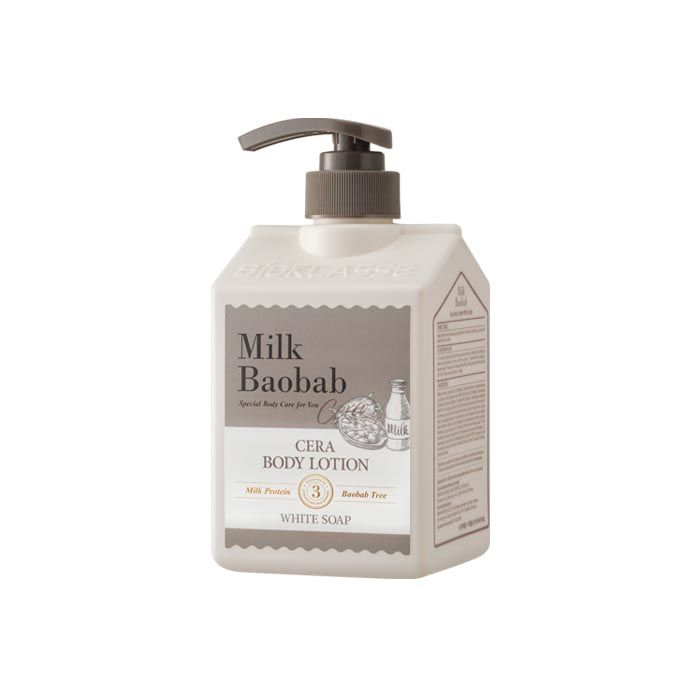 Купить Лосьон MilkBaobab Cera Body Lotion White Soap (600 мл), MILK BAOBAB