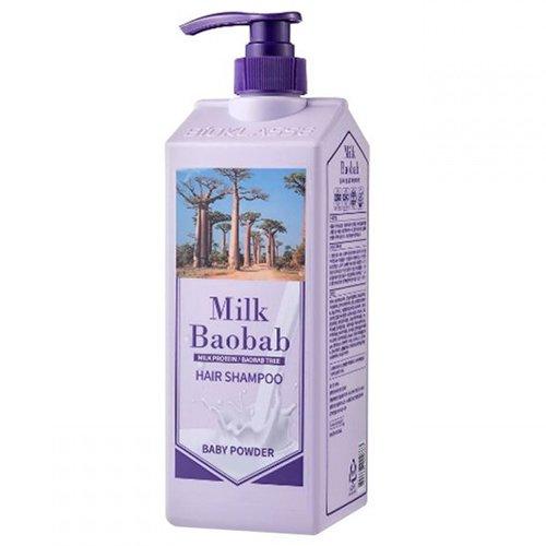 Купить Шампунь MilkBaobab Perfume Shampoo Baby Powder (500 мл), MILK BAOBAB