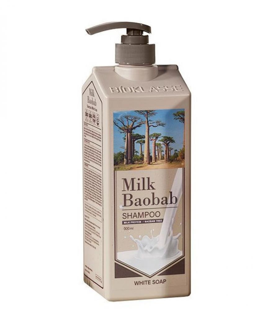Купить Шампунь MilkBaobab Perfume Shampoo White Soap (500 мл), MILK BAOBAB