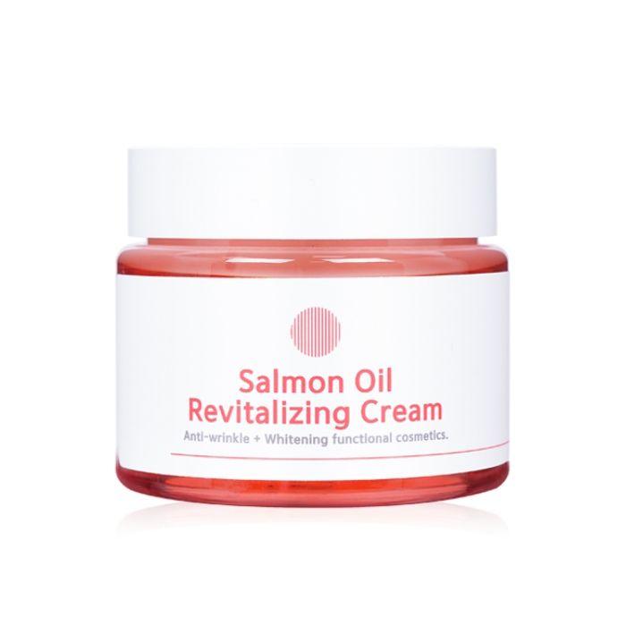 Восстанавливающий крем с маслом лосося EyeNLIP Salmon Oil Revitalizing Cream (80 гр)  - Купить