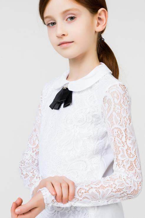 Блузка для девочек Acoola цв. белый р-р. 158 20240100014