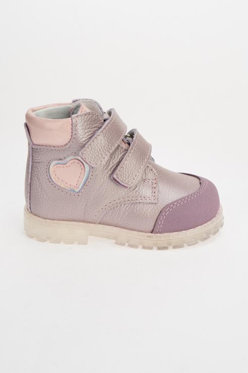 Купить 152304-22, Ботинки для девочек Котофей цв. фиолетовый р-р. 22,